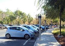 Aree di ricarica auto elettriche, scatta il divieto di sosta