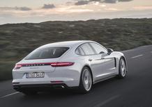 Porsche Panamera 4 E-Hybrid, figlia della 918 [Video primo test]