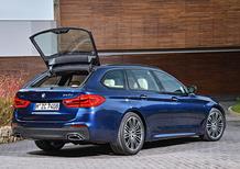 Nuova BMW Serie 5 Touring 2017: spazio alla bavarese