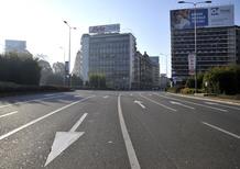 Milano, blocco del traffico sospeso: migliora la qualità dell'aria
