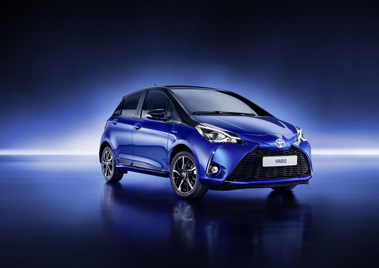 Toyota Yaris restyling 2017, debutto a Ginevra