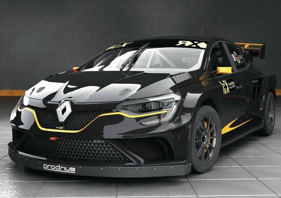 Renault Mégane WRX, ecco l'arma del team Chicherit