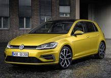 Volkswagen Golf restyling: arriva a marzo da 20.150 euro
