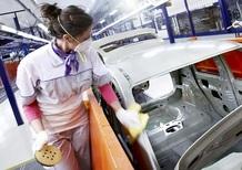 Istat: produzione veicoli +5,5% nel 2016
