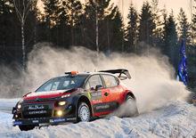 WRC 2017/Citroen. Craig Breen e Scott Martin Promossi da un Rally di Svezia Infernale