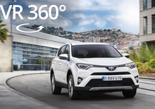 Toyota RAV4: scoprila nel video a 360°
