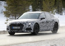 New Audi A6 2018: spy shots