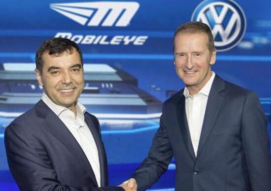 Volkswagen e Mobileye insieme per il futuro della mobilità