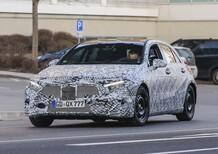 Nuova Mercedes Classe A: immagini spia