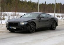 New Bentley Continental GT: spy shots
