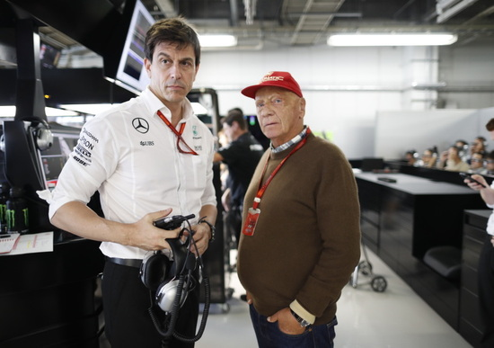 F.1: Mercedes, confermati Lauda e Wolff