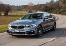 Nuova BMW Serie 5 530d: piacere di guida hi-tech [Video Primo Test]