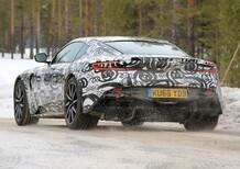 Nuova Aston Martin DB11 S: le foto dai test