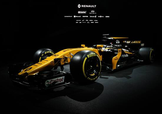 Formula 1 2017, Renault toglie i veli alla RS17