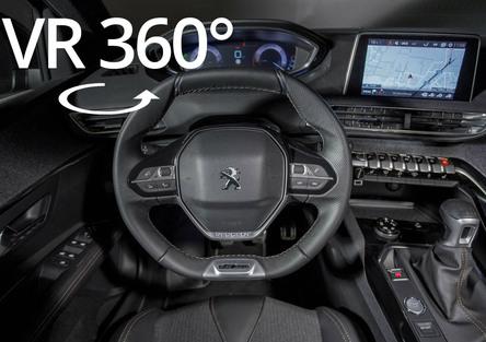 Nuova Peugeot 3008: scopri gli interni nel video a 360°