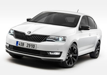 Skoda Rapid restyling 2017, debutto a Ginevra