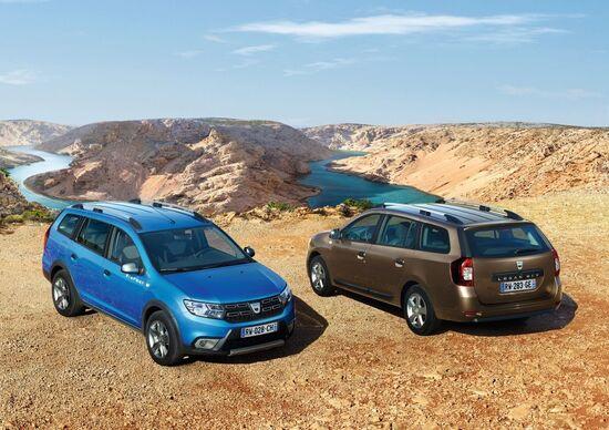 Dacia Logan MCV Stepway, la wagon si fa offroad