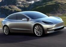 Tesla Model 3, produzione al via a luglio
