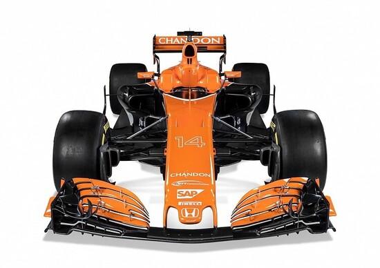 Formula 1 2017, McLaren svela la MCL32