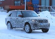 New Range Rover facelift: spy shots