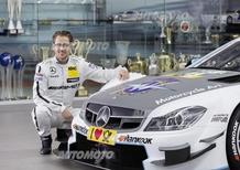 Mercedes: la C63 DTM di Gotz correrà con i colori MV Agusta