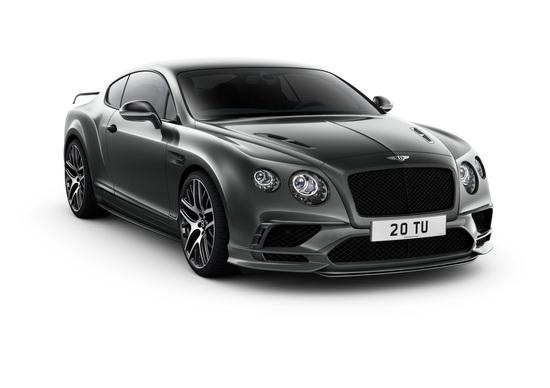 Bentley al Salone di Ginevra 2017