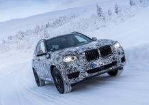 BMW nuova X3: video sulla neve