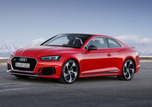 Nuova Audi RS5 Coupé: debutto al Salone di Ginevra 2017 con 450 CV [Video]