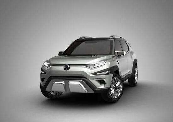 """SsangYong XAVL Concept, un SUV """"old school"""" al Salone di Ginevra 2017"""