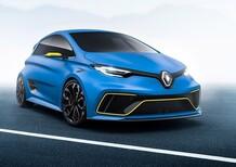 Renault Zoe e-Sport Concept: 462 CV elettrici al Salone di Ginevra 2017