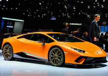 Lamborghini al Salone di Ginevra 2017 [Video]