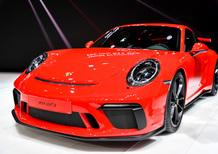 Porsche al Salone di Ginevra 2017 [Video]