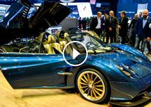 Pagani Huayra Roadster, la videorecensione al Salone di Ginevra 2017 [Video]