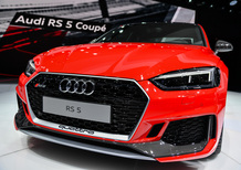 Nuova Audi RS5 Coupé, la videorecensione al Salone di Ginevra 2017 [Video]