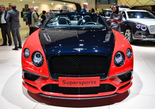 Bentley Continental Supersports, la videorecensione al Salone di Ginevra 2017 [Video]
