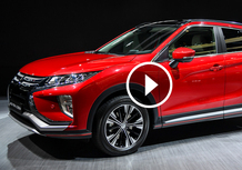 Mitsubishi Eclipse Cross, la videorecensione al Salone di Ginevra 2017 [Video]