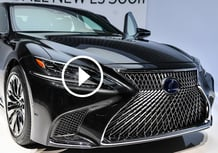 Lexus LS 500h 2017, la videorecensione al Salone di Ginevra 2017 [Video]