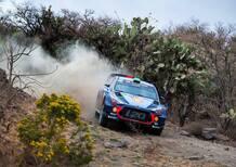 WRC17 Mexico. Grandi programmi. Ma intanto Piove!