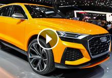 Audi Q8 Sport Concept, la videorecensione al Salone di Ginevra 2017 [Video]