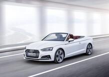 Nuova Audi A5 cabrio: arriva il 2.0 TDI da 190 CV