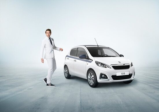 Peugeot 108 Collection, approvata da Mika