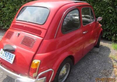 Tipo 110F (Berlina 500L) d'epoca del 1971 a Borgo Maggiore di Repubblica di San Marino d'epoca