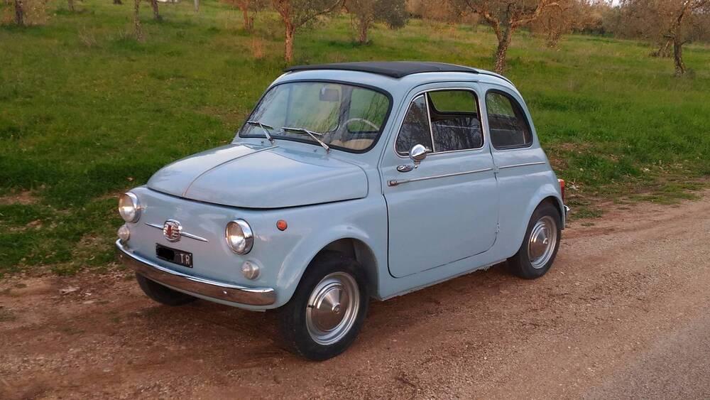 500 D d'epoca del 1963 a Terni