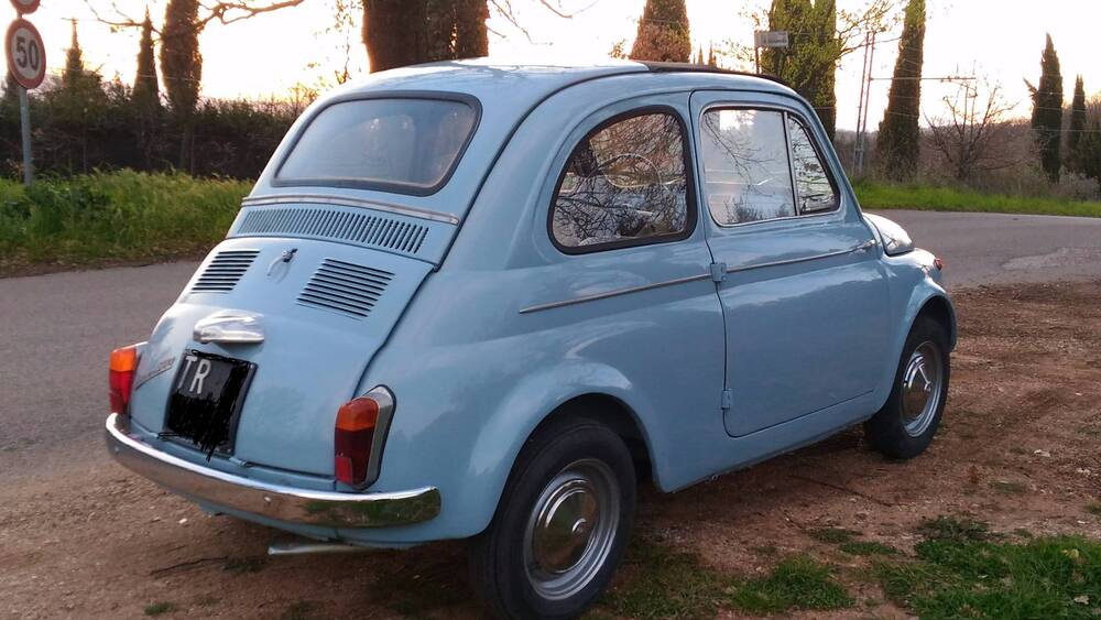 500 D d'epoca del 1963 a Terni (4)