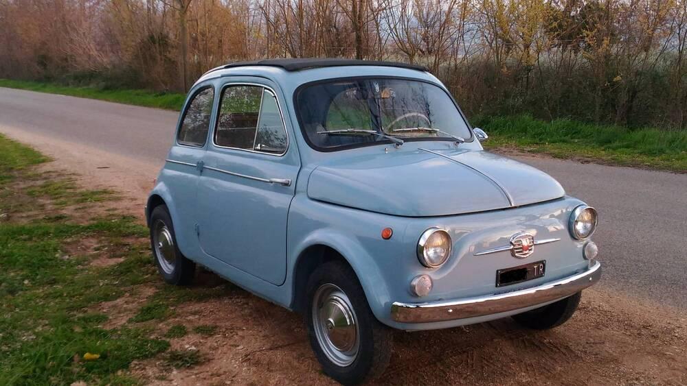 500 D d'epoca del 1963 a Terni (5)
