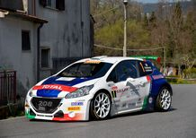 CIR 2017. Rally il Ciocco Part 1: Vincono Andreucci-Andreussi-Peugeot