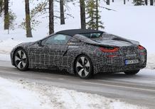 Nuova i8 Spyder: ecco le immagini della BMW scoperta attesa per il 2018