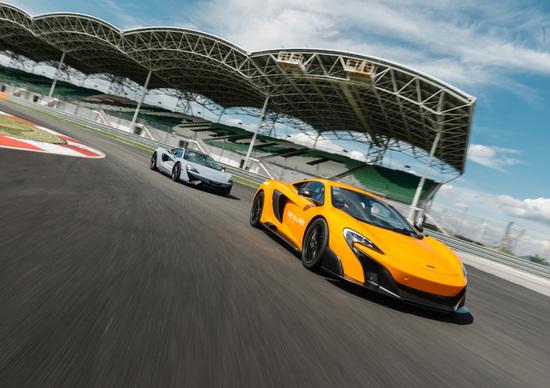 Pure McLaren Race Academy, i corsi per la guida in pista