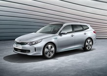 Kia Optima Sportswagon Plug-in Hybrid, arriva in autunno