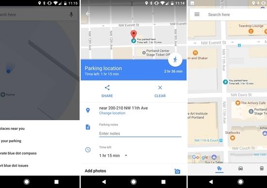 """Google Maps: arriva la funzione """"ricorda parcheggio"""""""